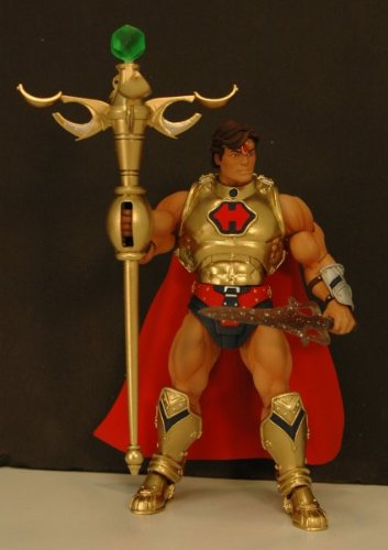 Picture of Mattel 2009 COMIC-CON EXCLUSIVE MASTERS OF THE UNIVERSE HE-RO Figure (B002J4BZL8) (Mattel Action Figures)