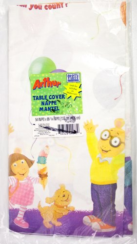 Arthur the Aardvark Party Table Cover