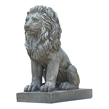 Hi-Line Gift Ltd Sitting Lion Statue