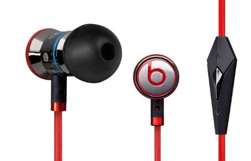 Monster Cable Beats By Dr. Dre Ibeats Headphones With Controltalk From Monster (Black Aluminum)