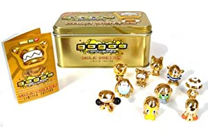 GoGo's Crazy Bones - Collectors Tin GOLD Series - (includes 10 exclusive Crazy Bones) by Magic Box