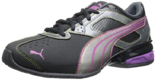 PUMA женщин's Tazon 5 кросс-тренинг обуви,черный/серебро…
