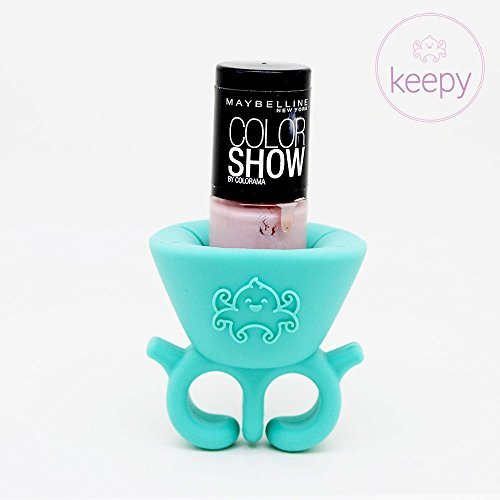 keepy-summer-blue-nail-polish-holder-fantastic-launching-price-perfect-manicure-a-revolution-polish-