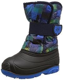 Kamik Snowbug4 Snow Boot (Toddler), Blue/Yellow, 7 M US Toddler