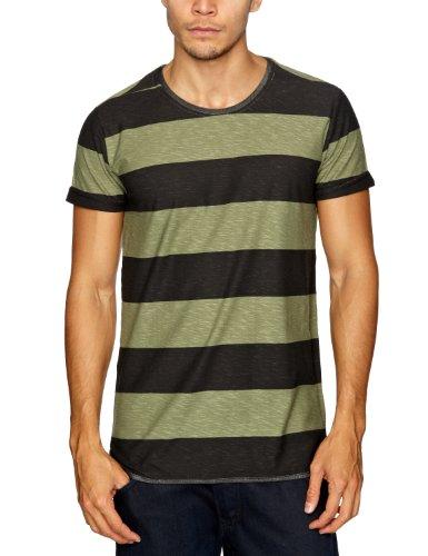 NUNC Bernard Patterned Men's T-Shirt Black Small