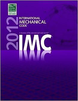 2012 international mechanical code by international code