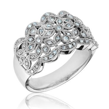 Diamond Fashion Ring 1/5ctw - Size 7