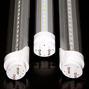led lampen test sn import t8 120cm warm wei 120 prozent mehr licht durch 2835 smd chips g13. Black Bedroom Furniture Sets. Home Design Ideas