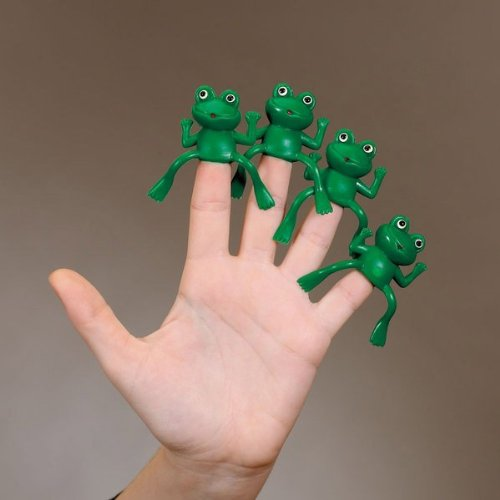 Rite Lite Passover Finger Frogs - Set of 4, 1 Pack