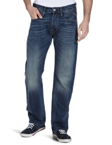 Replay Billstrong-M955  .000.470 042.009 Boot Cut Men's Jeans Denim W28INxL32IN