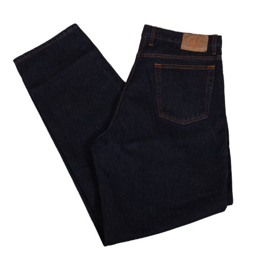 2263f4e726f Member's Mark Mens Deep Indigo Relaxed Fit Jeans (42 Waist 32 Inseam ...