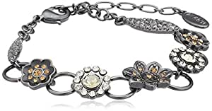 Pilgrim Damen-Armband harmony hematite plated grau 22 cm 24114-3502