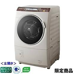 パナソニック ドラム式洗濯乾燥機 左開き アースベージュ 洗濯・脱水9.0kg 乾燥6.0kg