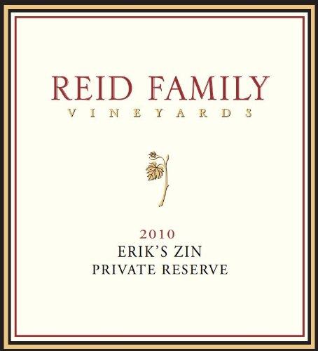 "2010 Reid Family Vineyards ""Erik'S Zin"" Zinfandel 750 Ml"