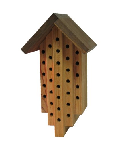 Mason Bee House -Attract Orchard Bees to Your Garden