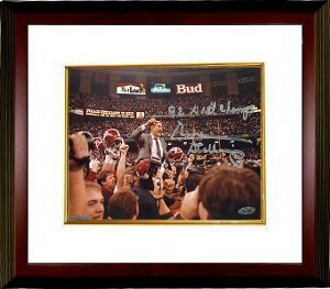 Gene Stallings Autographed Hand Signed Alabama Crimson Tide 16x20 Photo 92 Natl... by Hall of Fame Memorabilia