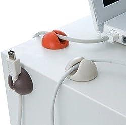 Futaba 6pcs/lot Wire Cord Cable Drop Ties Organizer