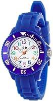 ICE-Watch - Montre enfants - Quartz Analogique - Ice-Mini - Blue - Mini - Cadran Blanc - Bracelet Silicone Bleu - MN.BE.M.S.12