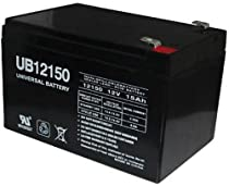 12V 15Ah F2 Scooter Bike Battery Replaces 14Ah Enduring CBE14-12, CBE 14-12