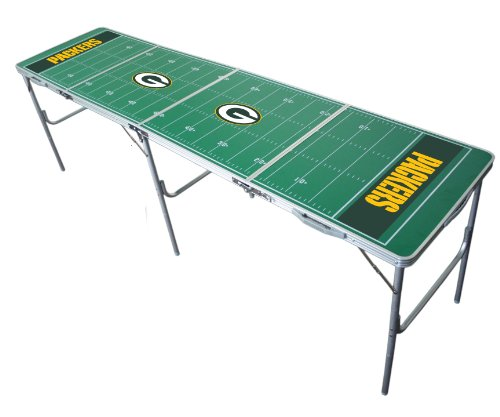 NFL Green Bay Packers Tailgate Table without Net at Amazon.com