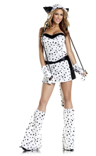 Be Wicked Darling Dalmation Costume