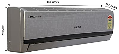 Voltas 185 EY(S) Executive S Split AC (1.5 Ton, 5 Star Rating, Silver)