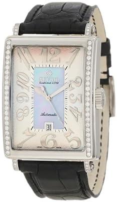 Gevril Women's 6207NE Glamour Automatic Blue Diamond Watch
