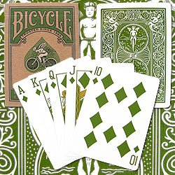 New Trademark Bicycle Poker Playing Cards Eco Edition Made From Sustainable Forest Papers Laminating