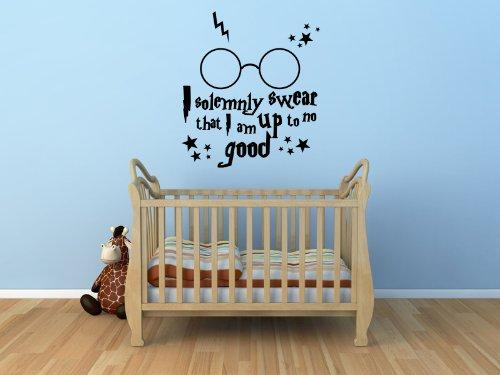 Harry Potter I Solemnly Swear Wall Sticker Ks 100X55 (Colour)