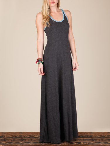 Alternative Women's Sport Maxi Dress, Eco True Vintage Black, Small