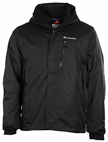 Columbia Men's Rural Mountain Interchange Omni Heat Jacket-Black-Medium (Heat Jackets compare prices)