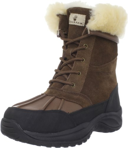BEARPAW Women's Stowe Mid-Calf Boot,Cognac,12 M US