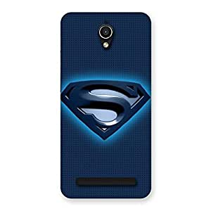 Delighted Premier Blue Day Multicolor Back Case Cover for Zenfone Go