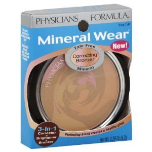 Physicians Formula Wear Correct Bronzer Mineral (Pack of 2) [base make-up]