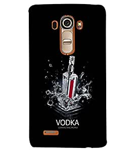 printtech Vodka Connecting people Back Case Cover for LG G4::LG G4 H815