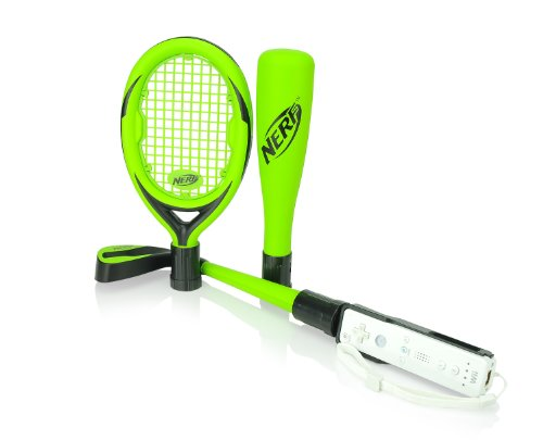Wii Nerf Sports Pack - New Green