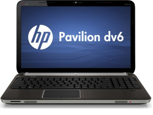 HP Pavilion dv6-6169us Entertainment Notebook PC - Black