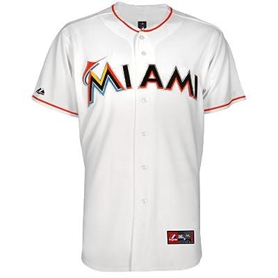 MLB Miami Marlins Home Replica Baseball Youth Jersey, White