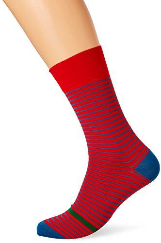 thomas-pink-devon-stripe-chaussettes-homme-multicoloured-red-blue-s-m
