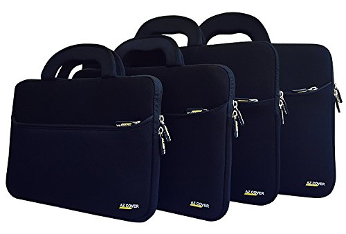 AZ-Cover 15.6-Inch Laptop Sleeve Case Bag (Black) With Handle For Dell Inspiron 15 7559 15.6