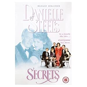 Danielle Steel's Secrets (1992) with Christopher Plummer, Linda Purl, Gary Collins (newspaper promo dvd in card sleeve)