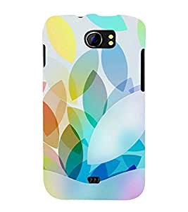 printtech Abstract Pattern Back Case Cover for Micromax Canvas 2 A110 / Micromax Canvas 2 Plus A110Q