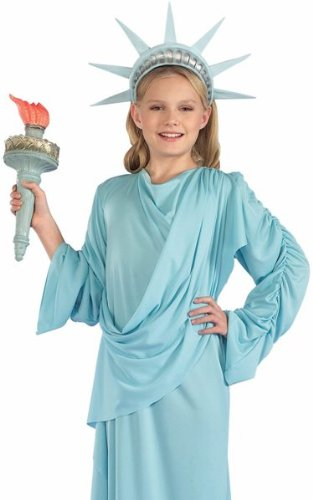 Forum Kids Statue of Liberty Patriotic July 4th Costume M