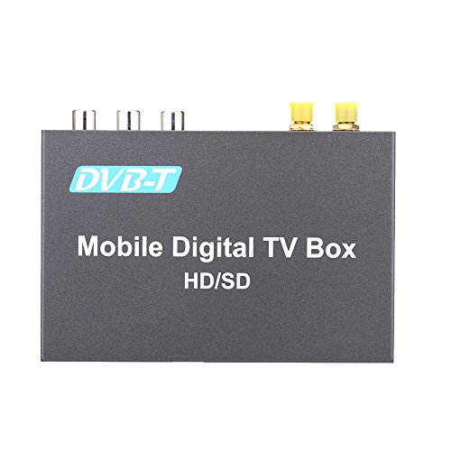 Docooler® DVB-T Mini Mobile Car Digital TV Box Analog TV Tuner High Speed 240km/h Strong Signal Receiver with 2 Antenna (Digital Mobile Tv Tuner compare prices)