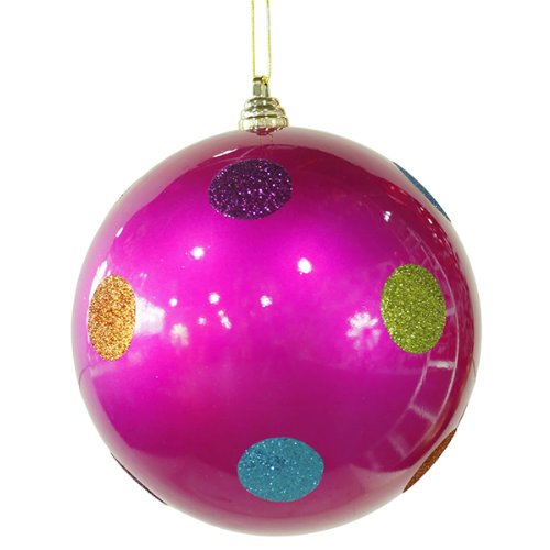 Pink christmas ornaments christmas tree for Pink christmas decorations