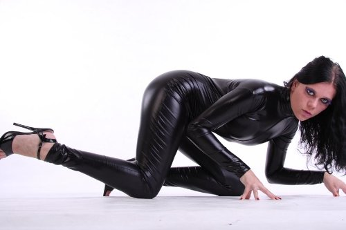 Unisex Latex/Lack look Catsuit (Overall) Size M