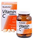 Health Aid, Vitamin C 1500mg - Prolonged Release - 60 Tablets