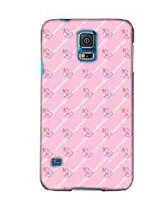 Pick pattern Back Cover for Samsung Galaxy S5 SM-G900I