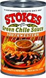 Stokes Green Chile Sauce Southwestern, 15-Ounce