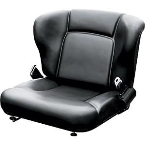Wise Toyota-Style Universal Lift Truck Seat Assembly - Black, Model# WM1357